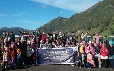 Family gathering goes to Malang